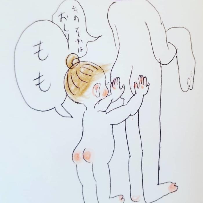 「なんて言ってるんだろう(笑)」一生懸命お話する2歳児が可愛すぎ..♡の画像13