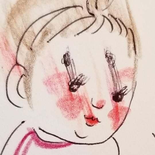 「なんて言ってるんだろう(笑)」一生懸命お話する2歳児が可愛すぎ..♡の画像23
