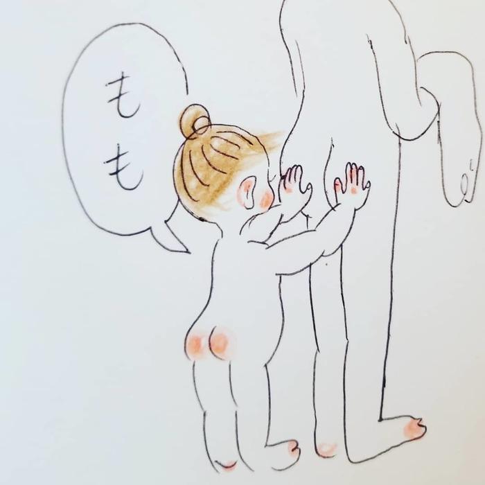 「なんて言ってるんだろう(笑)」一生懸命お話する2歳児が可愛すぎ..♡の画像12