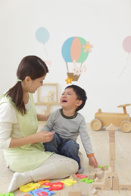 入園後にはじまった3歳次男の大泣き。先輩ママと実母のアドバイスに救われた。のタイトル画像