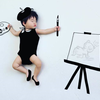 「寝相らくがきアートのコツは?どういう風に描いてるの?」お聞きしました!!のタイトル画像