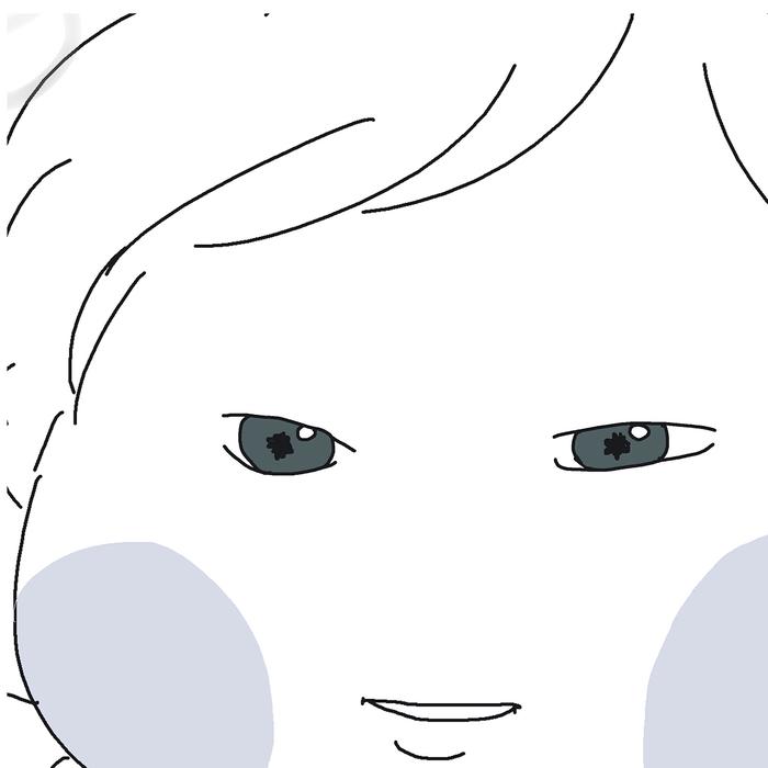 """可愛い娘の""""瞳の奥""""に映ったのは....産後ショックなアレ!(笑)の画像15"""