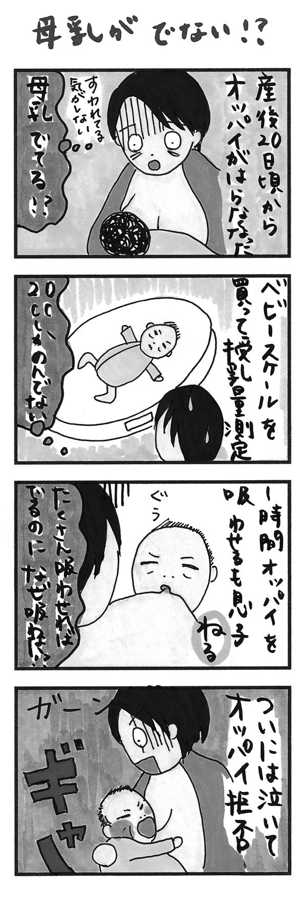 母乳への執着を捨てられずに陥った、負の育児サイクルの画像1