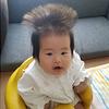 どうしたらこうなるの…?「#髪の毛爆発」ベビー&キッズにじわじわくる。のタイトル画像