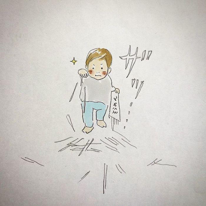"""「""""あーあ""""じゃないぃぃ!」お話上手な1歳さんとのドタバタで愛しい日々。の画像5"""