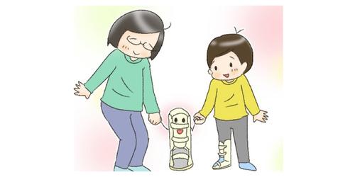 """共に育児してきた""""戦友""""だから…。息子が脚に着けている「装具」の話のタイトル画像"""