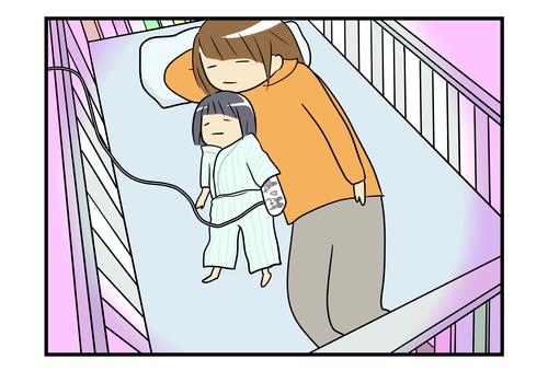 原因にギクリ…!1歳の娘が嘔吐と熱で緊急入院した話<第二回投稿コンテストNo.58>のタイトル画像