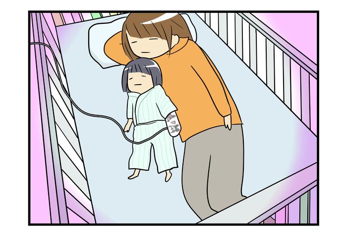 原因にギクリ…!1歳の娘が嘔吐と熱で緊急入院した話<第二回投稿コンテストNo.58>の画像2