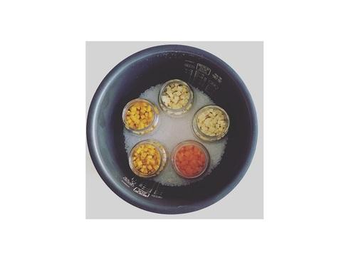 炊飯器+ビンでらくらく調理♪今日からマネしたい「離乳食」アイデア!!のタイトル画像
