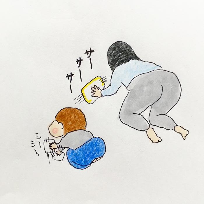 """「…!!?」2歳児との日々は、""""思わず目を疑う瞬間""""の連続でできている(笑)の画像20"""