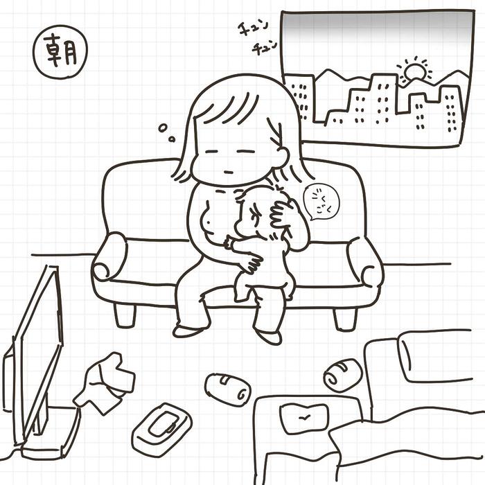 「産後=乳出しっぱ+ソファ生活」これがリアルな赤ちゃんとの日々!の画像7