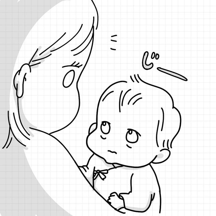 「産後=乳出しっぱ+ソファ生活」これがリアルな赤ちゃんとの日々!の画像32