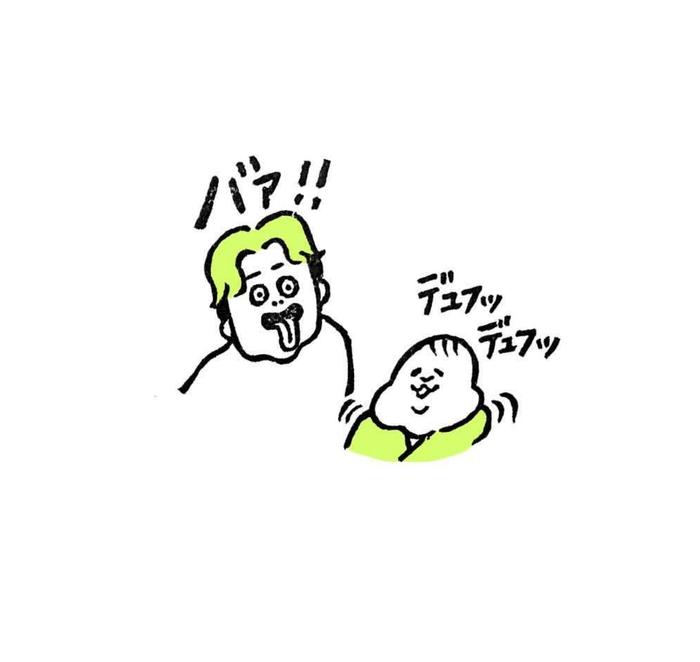 5ヶ月娘ちゃんの予想外の瞬間を描いた消しゴムはんこがすごい!!の画像7