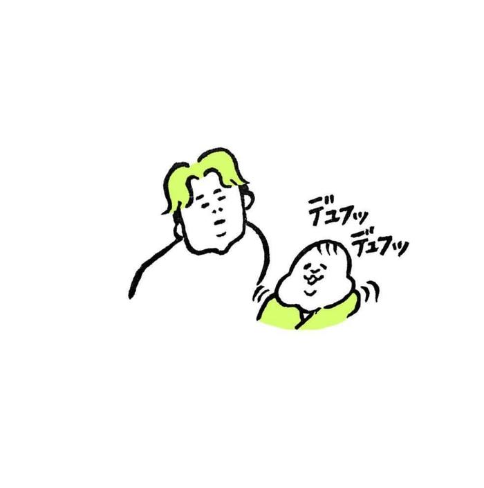 5ヶ月娘ちゃんの予想外の瞬間を描いた消しゴムはんこがすごい!!の画像8