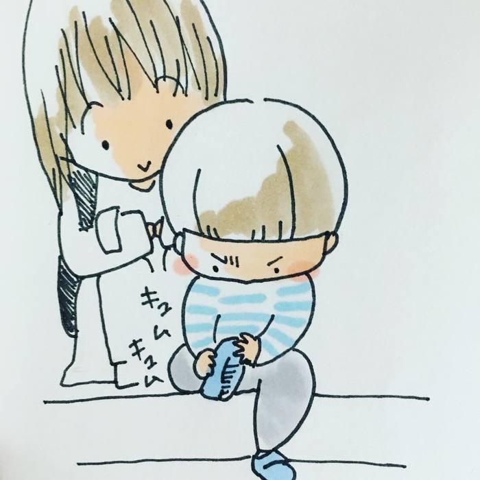「そんな抱っこの求め方…ずるい(笑)!」男の子育児は萌えキュンの連続♡の画像11