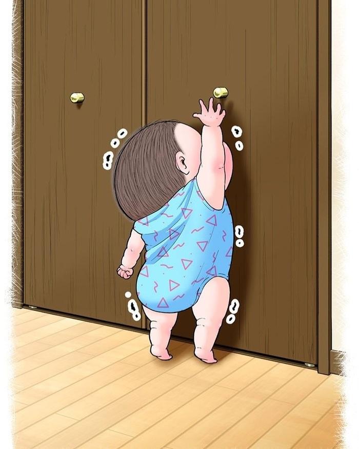 眼福…ぷにっぷに赤ちゃんの、超愛しい瞬間。うちの子もこの顔する〜!の画像18