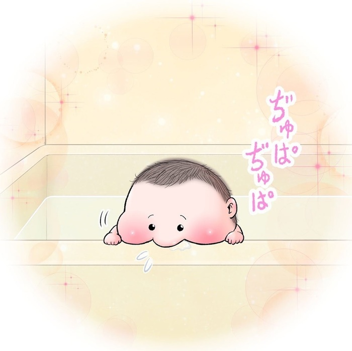 眼福…ぷにっぷに赤ちゃんの、超愛しい瞬間。うちの子もこの顔する〜!の画像6