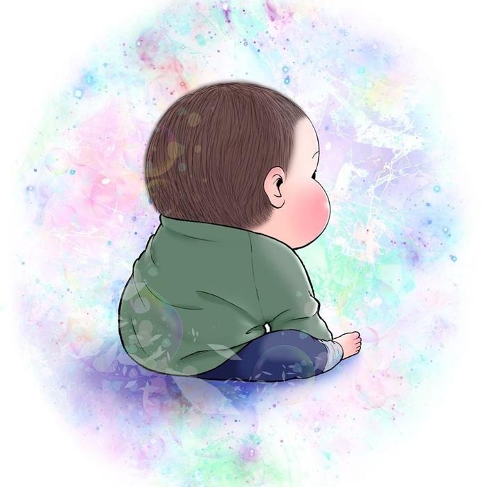 眼福…ぷにっぷに赤ちゃんの、超愛しい瞬間。うちの子もこの顔する〜!の画像14