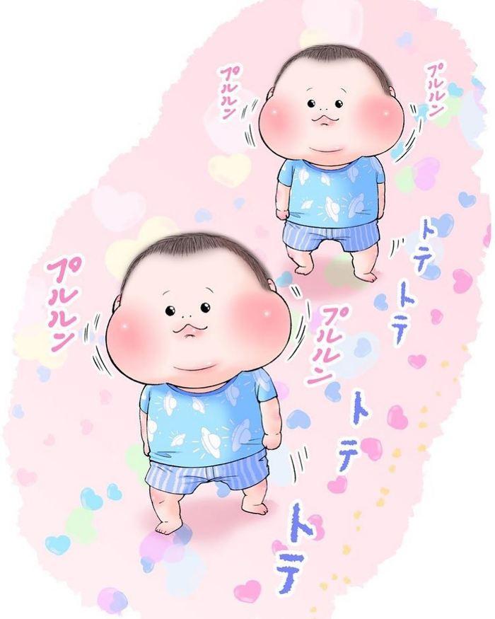 眼福…ぷにっぷに赤ちゃんの、超愛しい瞬間。うちの子もこの顔する〜!の画像20