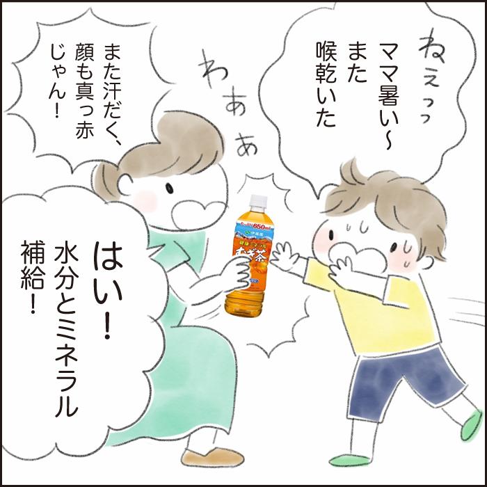 暑さに負けない体づくり!汗をかいたら家族みんな「健康ミネラルむぎ茶」で水分・ミネラル補給!の画像16