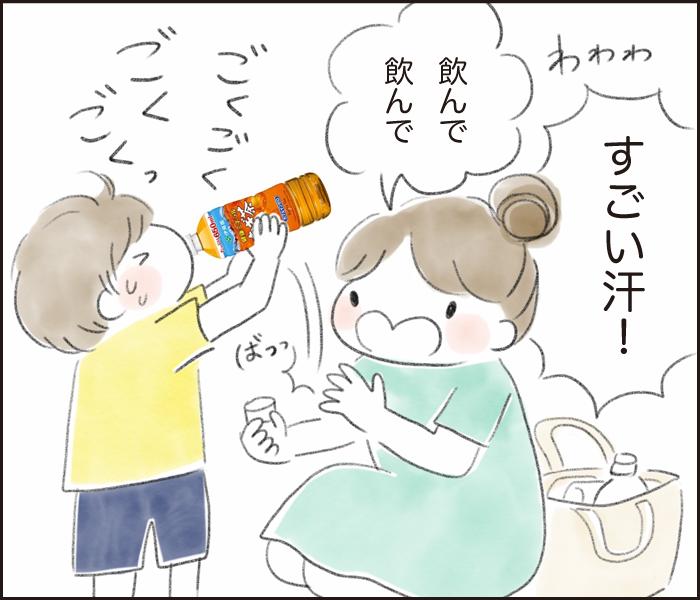 暑さに負けない体づくり!汗をかいたら家族みんな「健康ミネラルむぎ茶」で水分・ミネラル補給!の画像3
