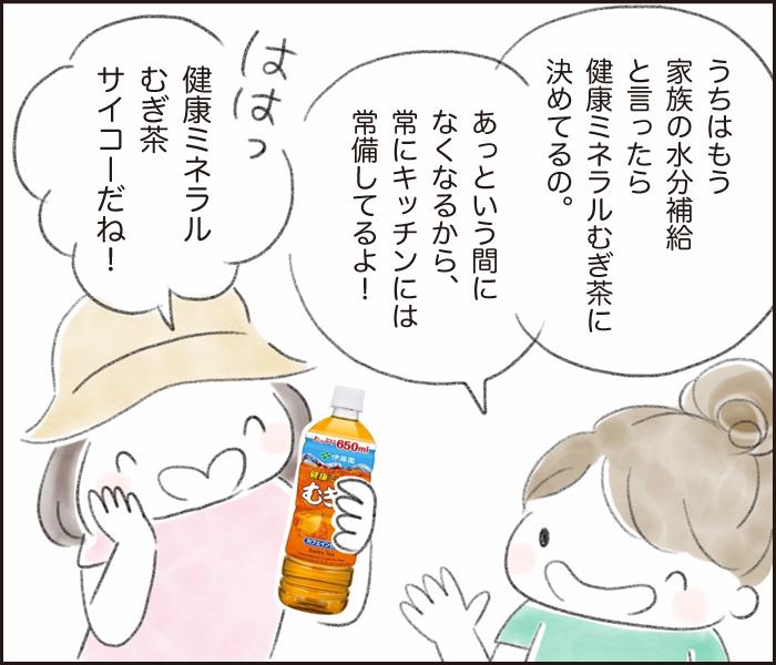 暑さに負けない体づくり!汗をかいたら家族みんな「健康ミネラルむぎ茶」で水分・ミネラル補給!の画像20