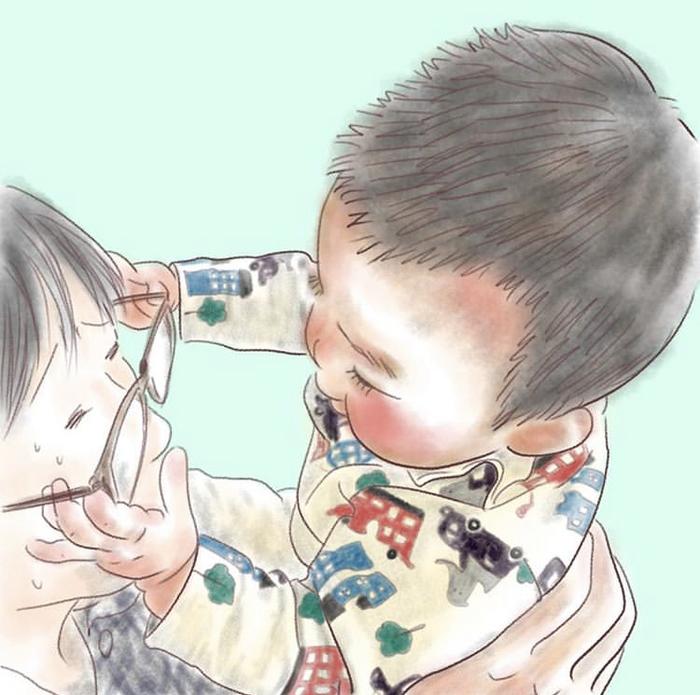 忙しい毎日も、君のためなら頑張れるよ!ママが描く息子の日常に癒されるの画像12