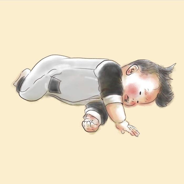 忙しい毎日も、君のためなら頑張れるよ!ママが描く息子の日常に癒されるの画像6