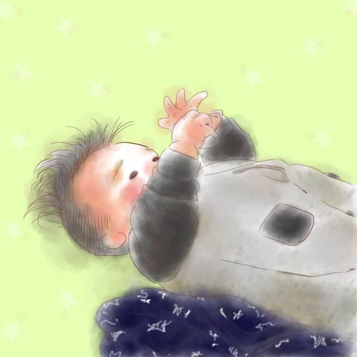 忙しい毎日も、君のためなら頑張れるよ!ママが描く息子の日常に癒されるの画像1