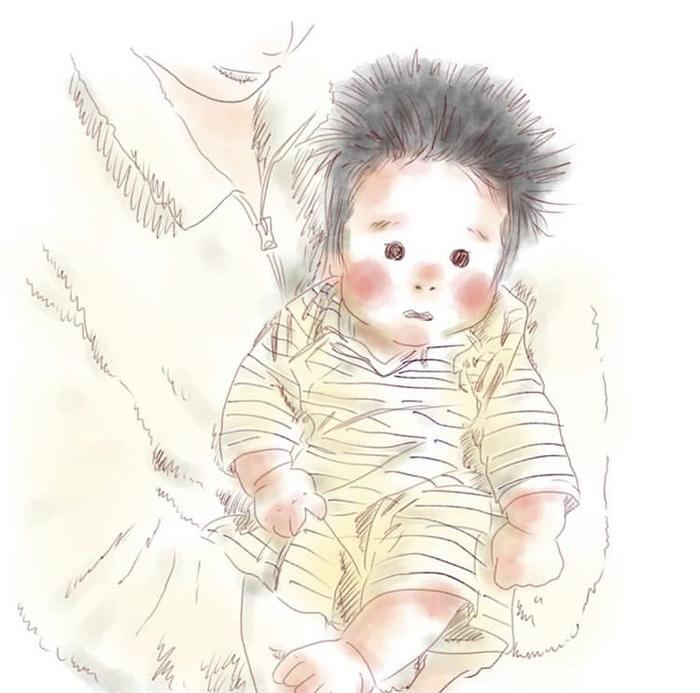 忙しい毎日も、君のためなら頑張れるよ!ママが描く息子の日常に癒されるの画像4