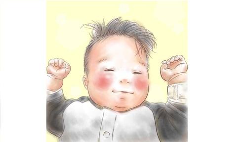 忙しい毎日も、君のためなら頑張れるよ!ママが描く息子の日常に癒されるのタイトル画像