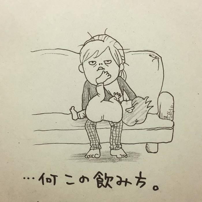 ウチの子の授乳スタイル、自由過ぎ…!「本日の授乳風景」の記録が面白い!の画像8