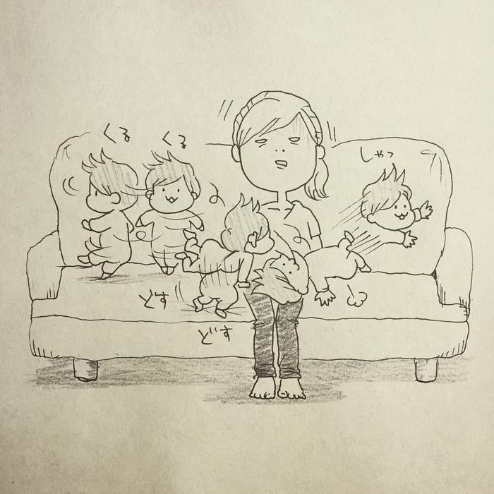 ウチの子の授乳スタイル、自由過ぎ…!「本日の授乳風景」の記録が面白い!の画像21
