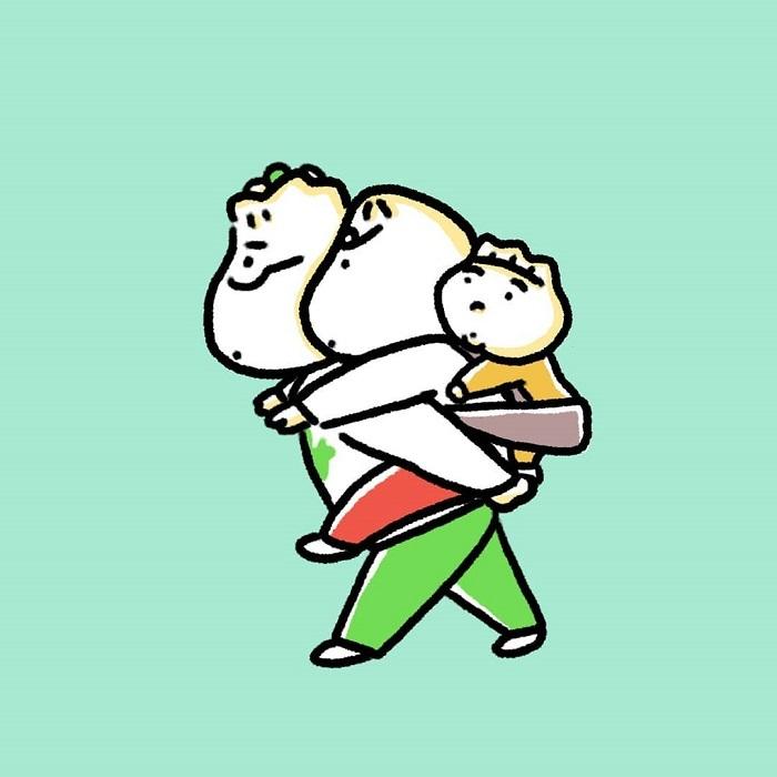 """「夫、前向き抱っこに憧れがち」これが噂の""""妊娠&育児あるある""""の画像1"""
