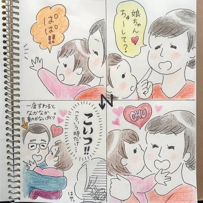 「ねねにゃい~♡」1歳女子との毎日は、カワイイと大好きがいっぱい!の画像6