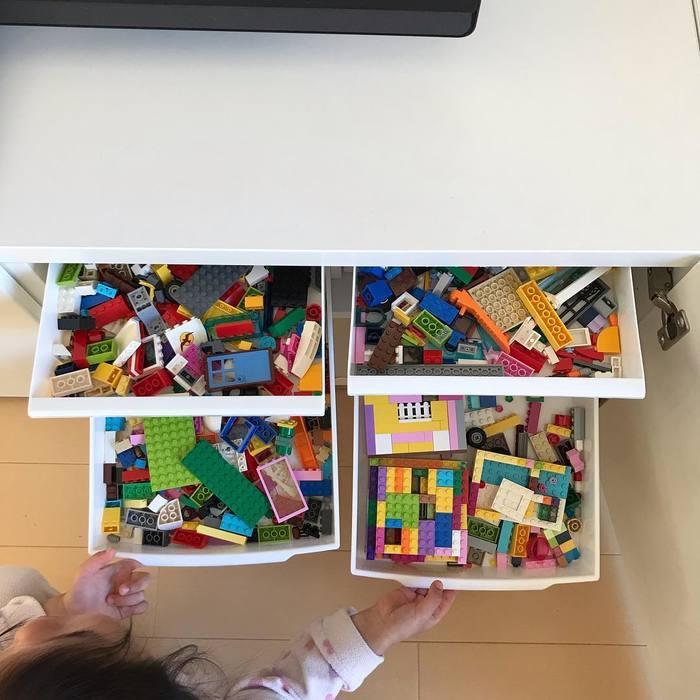 オリジナルばんそうこうにおもちゃ収納、プレイテーブルまで!まねしたい「100均グッズアイデア」の画像22