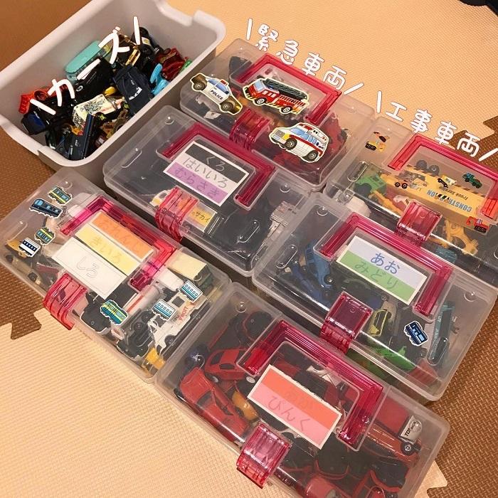 オリジナルばんそうこうにおもちゃ収納、プレイテーブルまで!まねしたい「100均グッズアイデア」の画像14