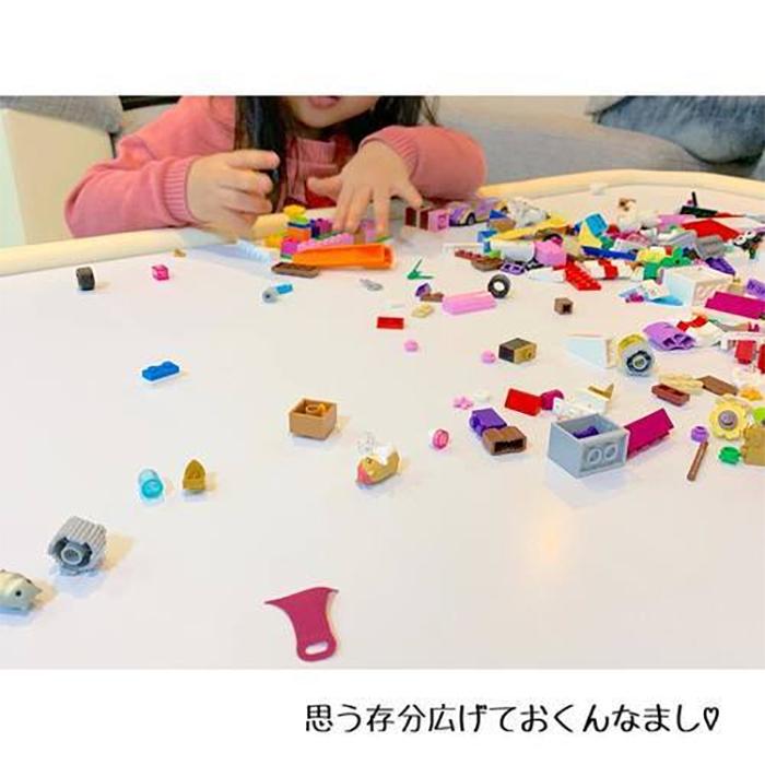 オリジナルばんそうこうにおもちゃ収納、プレイテーブルまで!まねしたい「100均グッズアイデア」の画像19