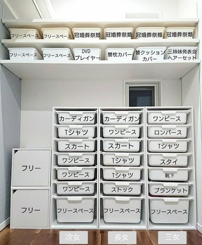 簡単!見た目よし!クローゼットの収納アイデア大集合の画像2