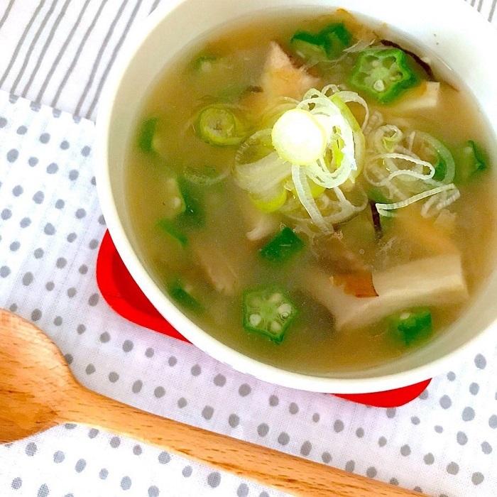 無理せず健康生活♪明日からすぐに始めたい「すぼら味噌汁」の画像1