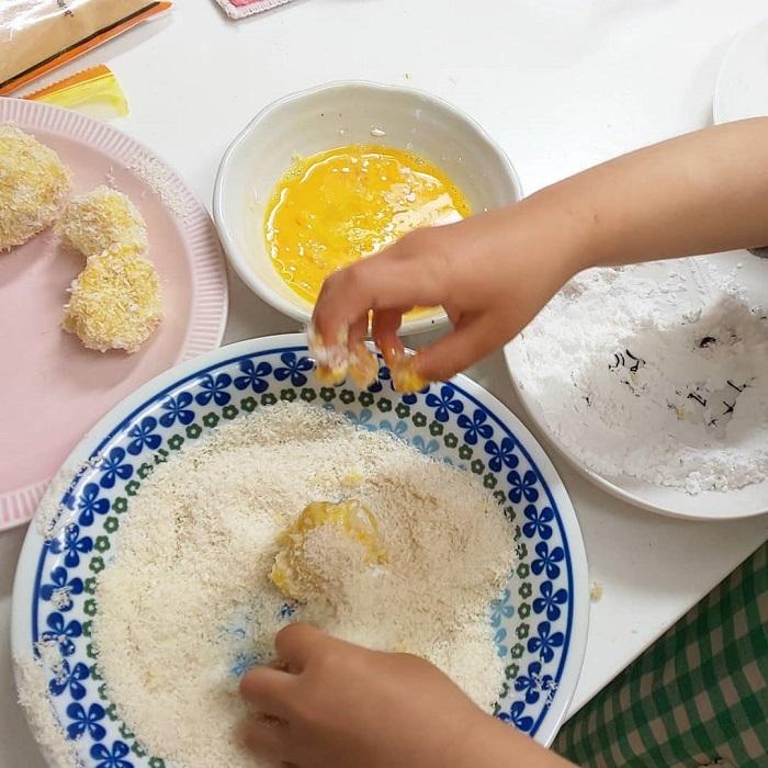 自分で作ったお料理は特別な味、まぜまぜこねこね「#親子クッキング」の画像2
