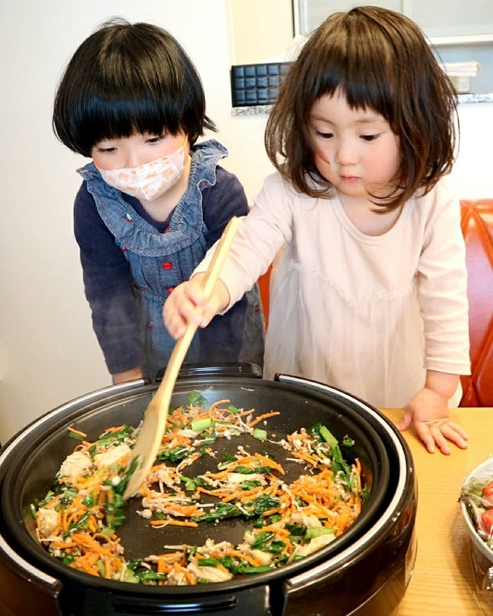自分で作ったお料理は特別な味、まぜまぜこねこね「#親子クッキング」の画像23