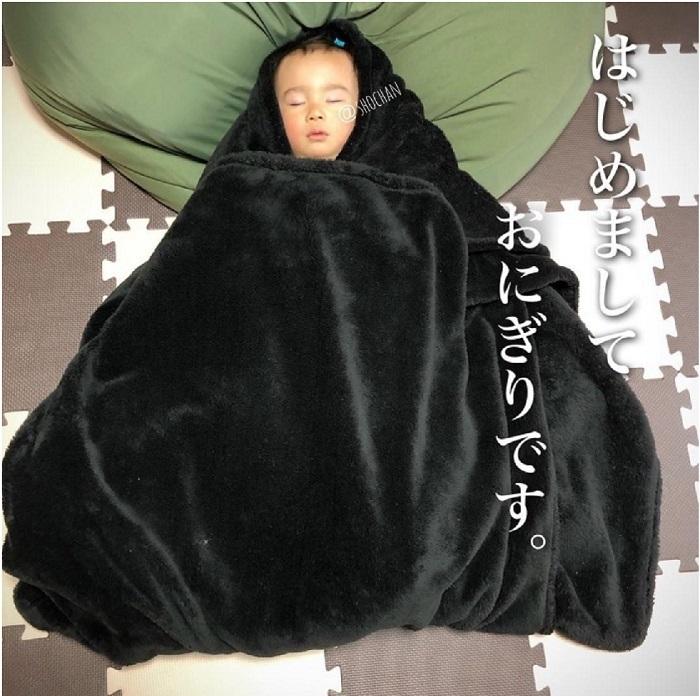 """発想がすごい!身近なアイテムで作れる、おもしろ""""お昼寝アート""""の画像9"""