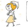 私はこれを「産後の進化」と呼ぶ!ママの服装ビフォー・アフターのタイトル画像