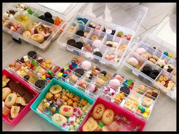 外遊びができない日に、話題の「お菓子パレット」をつくってみましたの画像6