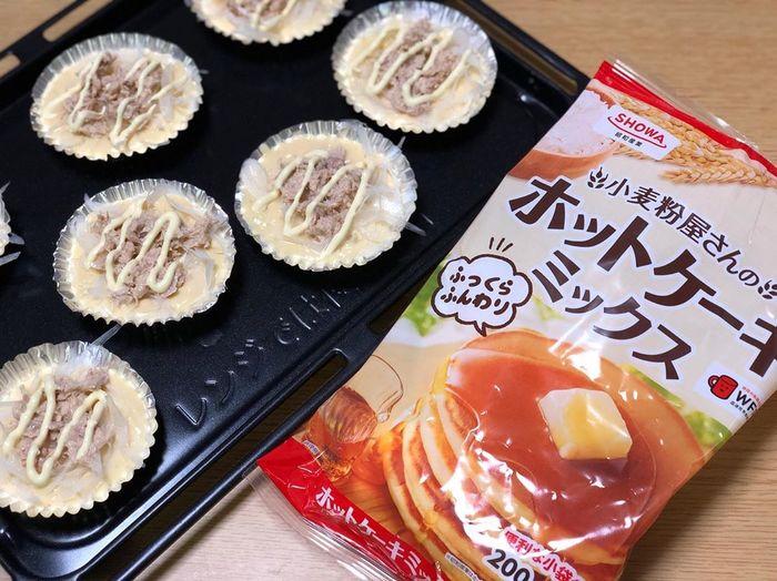 話題のチーズドッグも!ホットケーキミックスを使った簡単レシピ集♪の画像4