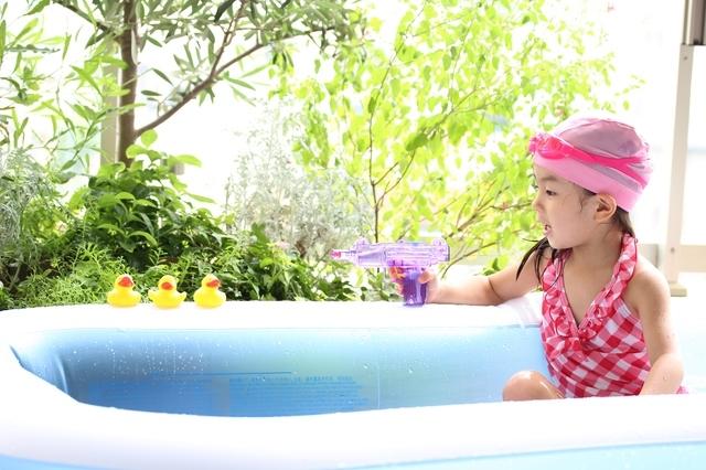 夏はやっぱりおうちプール!!家で楽しく水遊びができるアイテムたちの画像10