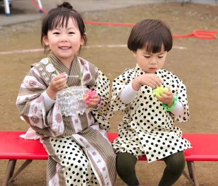 お祭りに花火!夏イベントを盛り上げる甚平&浴衣コーデの画像23