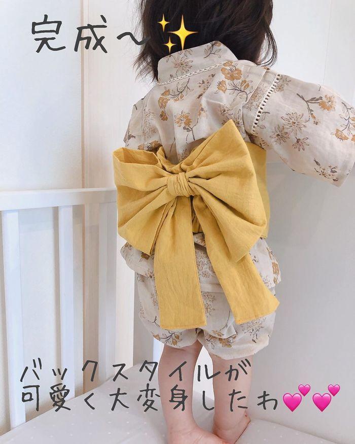 お祭りに花火!夏イベントを盛り上げる甚平&浴衣コーデの画像19