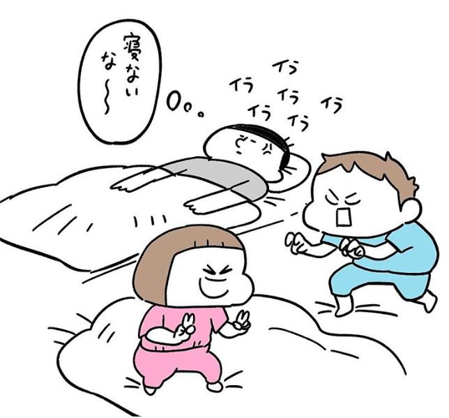 楽しく入眠できるステキ作戦!のはずが…パパが策に溺れるまで(笑)の画像3
